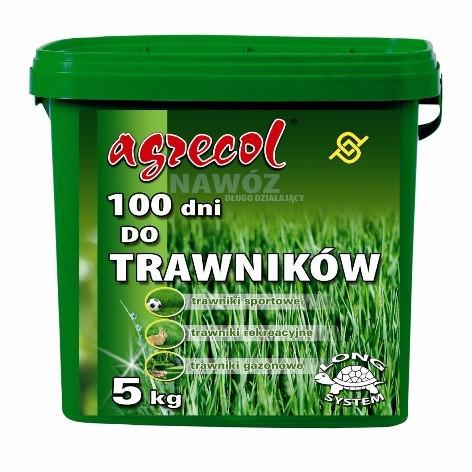 Добриво для газону 100 днів NPK (21-5-8) 5 кг, Agrecol