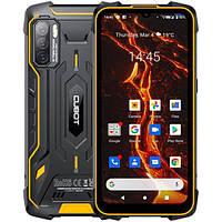 Cubot Kingkong 5 Pro Black Orange 4Гб/64Гб 8000 мАч NFC Android 11 защищенный смартфон