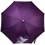 Зонт-трость Kite Kids полуавтомат Фиолетовый (K21-2001), фото 3