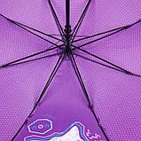 Зонт-трость Kite Kids полуавтомат Фиолетовый (K21-2001), фото 4