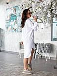Жіноче плаття з довгим рукавом на гудзиках, фото 4