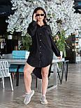 Жіноче плаття з довгим рукавом на гудзиках, фото 7