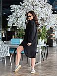 Жіноче плаття з довгим рукавом на гудзиках, фото 8