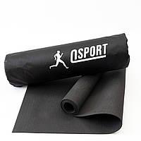 Коврик для йоги и фитнеса + чехол (йога мат, каремат спортивный) OSPORT Yoga Pro 3мм (OF-0089)
