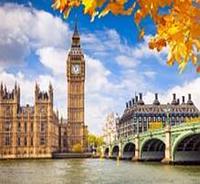Картина Осенний Лондон (рисование по номерам)