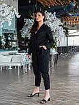 Жіночий костюм двійка з брюками і піджаком, фото 6
