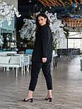 Жіночий костюм двійка з брюками і піджаком, фото 5