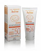 Солнцезащитный крем Eau Thermale Avene с минеральным экраном SPF 50+ 50мл