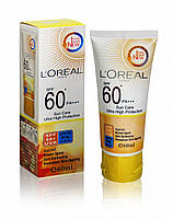 Солнцезащитный крем L`oreal Sun Care Ultra High Protection SPF 60+ 60мл