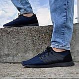Літні чоловічі кросівки сині сітка (Пр-3304сн), фото 2