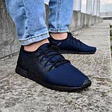 Літні чоловічі кросівки сині сітка (Пр-3304сн), фото 3