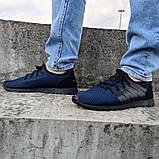 Літні чоловічі кросівки сині сітка (Пр-3304сн), фото 4