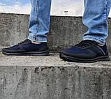 Кроссовки мужские синие сетка (Пр-3910сн), фото 4
