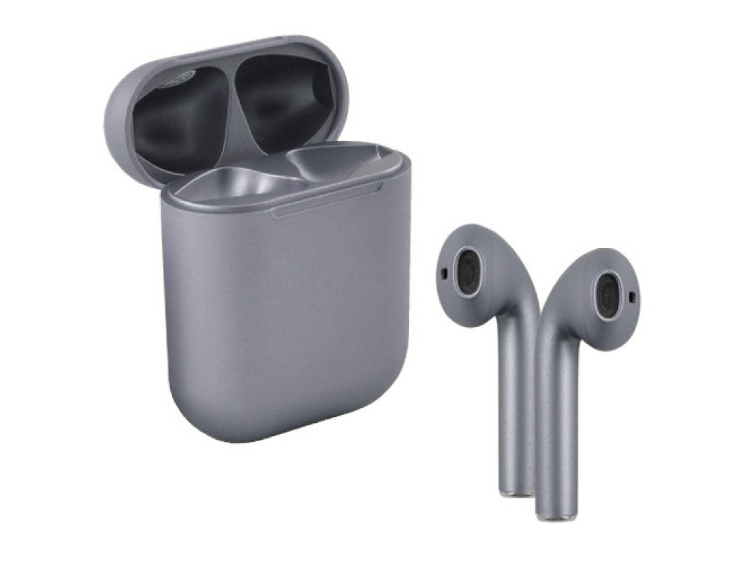 Бездротові сенсорні навушники i12 TWS Pods Gray