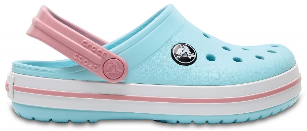 Кроксы сабо Детские Crocband Kids Ice Blue/White J2 33-34 20,8 см Светло-голубой