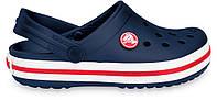 Крокси сабо Дитячі Crocband Kids Navy J2 33-34 20,8 см Синій