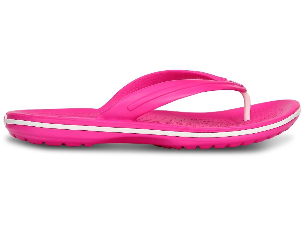 Кроксы сабо Женские Crocband Flip-Flop Fuchsia M5-W7 37-38 22,9 см Розовый