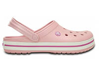 Кроксы сабо Женские Crocband Pearl M4-W6 36-37 22,1 см Светло-розовый