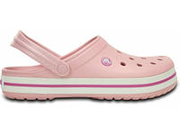 Крокси сабо Жіночі Crocband Pearl M7-W9 39-40 24,6 см Рожевий