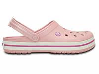Крокси сабо Жіночі Crocband Pearl M8-W10 41-42 25,5 см Сетло-рожевий