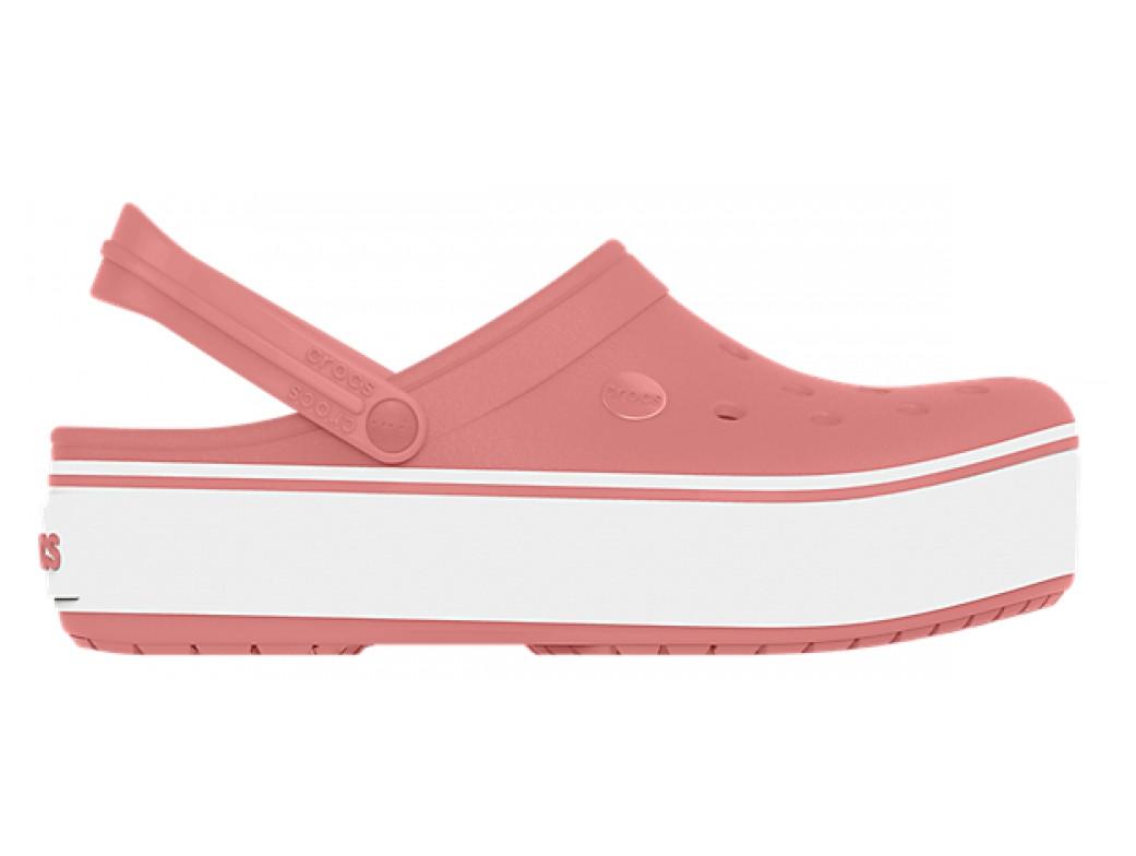 Крокси сабо Жіночі Crocband Platform Blossom M6-W8 38-39 23,8 см Рожевий