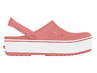 Кроксы сабо Женские Crocband Platform Blossom M6-W8 38-39 23,8 см Розовый