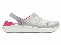 Крокси сабо Жіночі LiteRideClogPearl/White M4-W6 36-37 22,1 см Білий з Рожевим