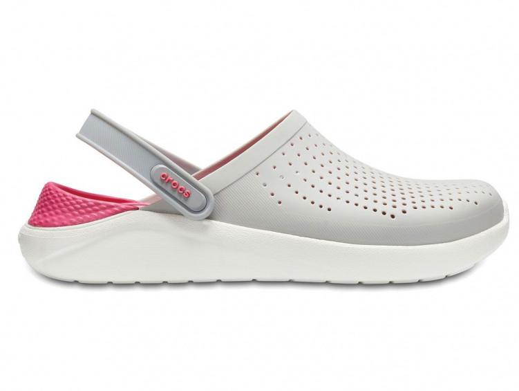 Крокси сабо Жіночі LiteRideClogPearl/White M7-W9 39-40 24,6 см Білий з Рожевим