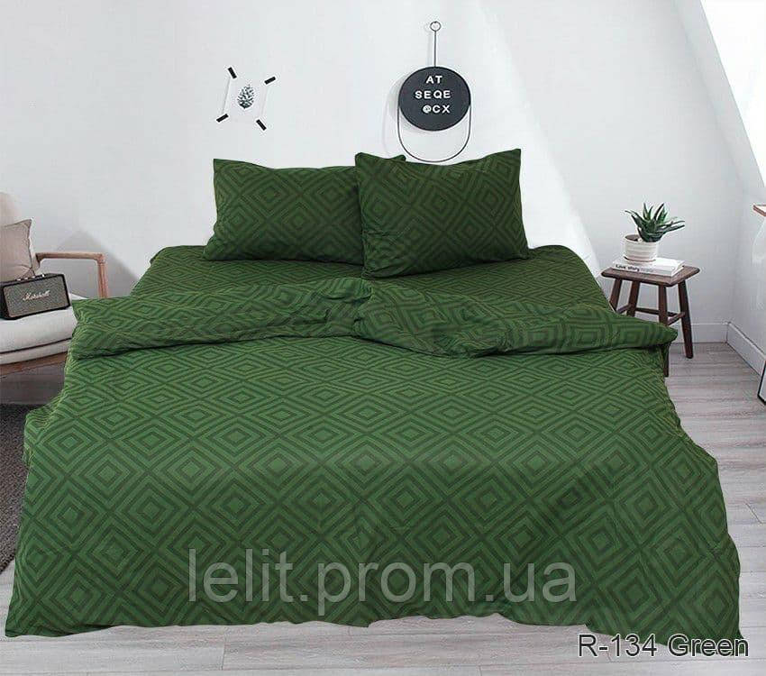 Двуспальный комплект постельного белья R134Green