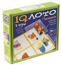 IQ лото. Пластиковое лото. Половинки. (3+) Комплект из трех игр. 978-5-8112-5661-7