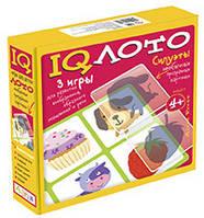 IQ лото. Пластиковое лото. Силуэты (4+) Комплект из трех игр. 978-5-8112-5660-0