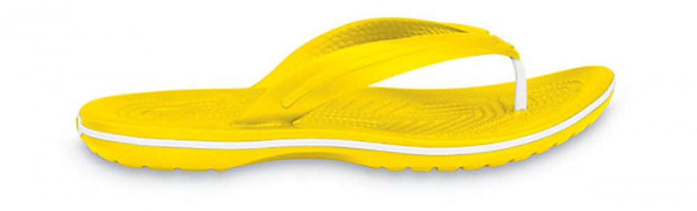 Крокси сабо Унісекс Crocband Flip-Flop Yellow M4-W6 36-37 22,1 см Жовтий