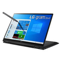 "LG Gram 14"" 2-In-1 WUXGA Touchscreen Notebook Computer (14T90P-K.AAB6U1)"