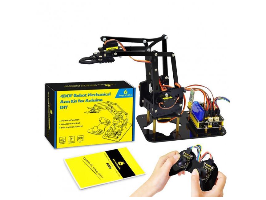 Обучающий набор Keyestudio - роботизированная подвижная рука для Arduino