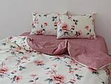 Двуспальный комплект постельного белья с компаньоном R4530, фото 2