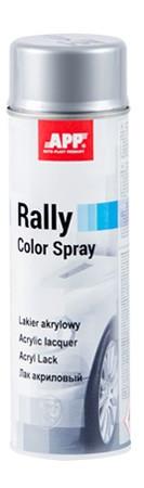 210104 Фарба аерозольна Rally Color Spray APP СРІБЛЯСТА 500мл