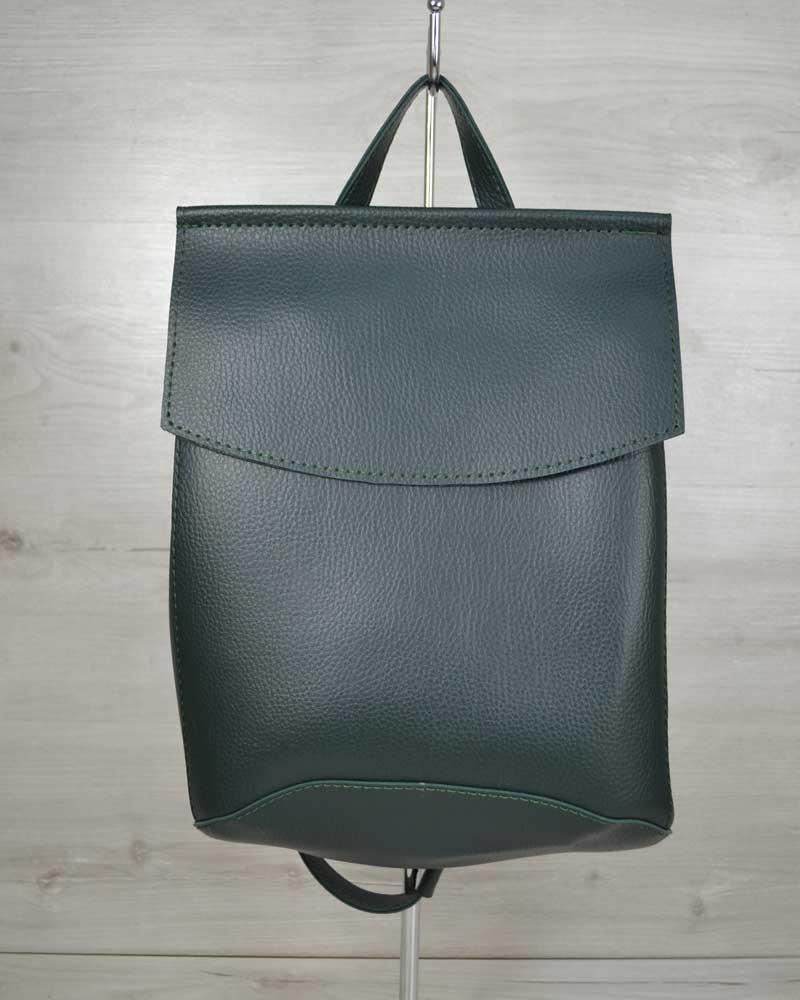 Модная женская сумка, повседневная стильная сумка рюкзак зеленого цвета