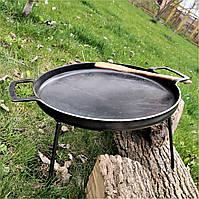 Сковорода из диска бороны 41см для жарки