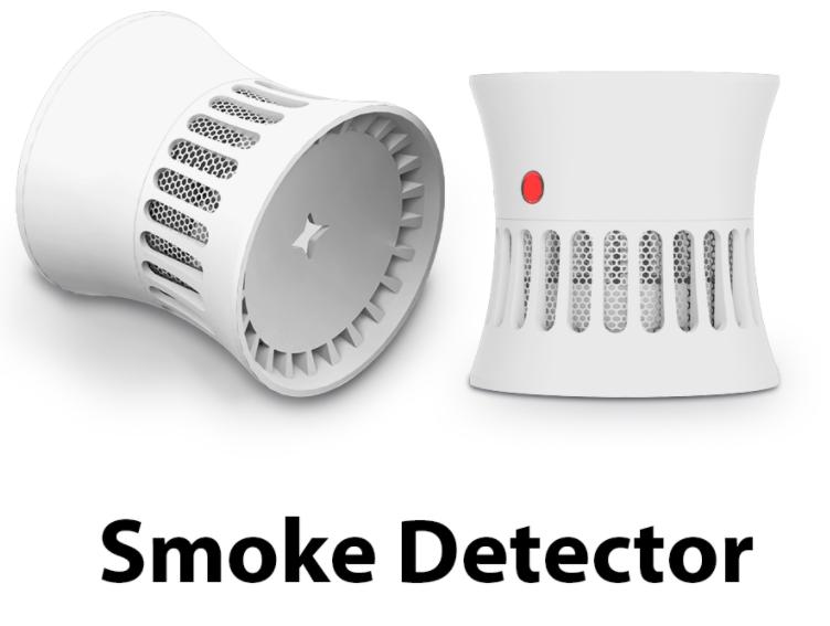 Детектор дыма, пожарная сигнализация, домашняя система безопасности, 85 дБ датчик дыма, противопожарная защита