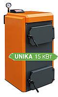 Пиролизный твердотопливный котлы КОТэко Unika 15
