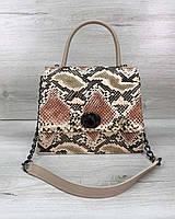 Женская сумка Lana бежевая, фото 1