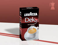 Кофе молотый Lavazza Dek Intenso без кофеина (оригинальный), 250 гр
