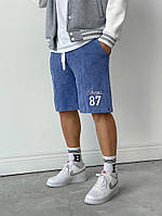 Мужские шорты голубые 87