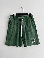 Мужские шорты зеленые 87