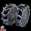 Колеса з грунтозачепами Ø340 × 110 (Pubert) (без втулки), фото 4