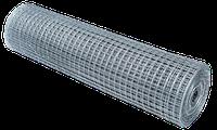 25х12мм, Ø 0.7мм (1х30м) Сетка сварная оцинкованная рулонная