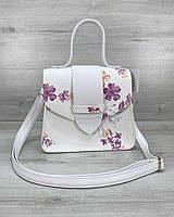 Модная женская сумка, повседневная стильная сумка «Оби» белая, фото 1