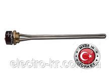 Тэн радиаторный с терморегулятором 2,5 кВт  на резьбе 1 1/4″ [Sanal, Турция]