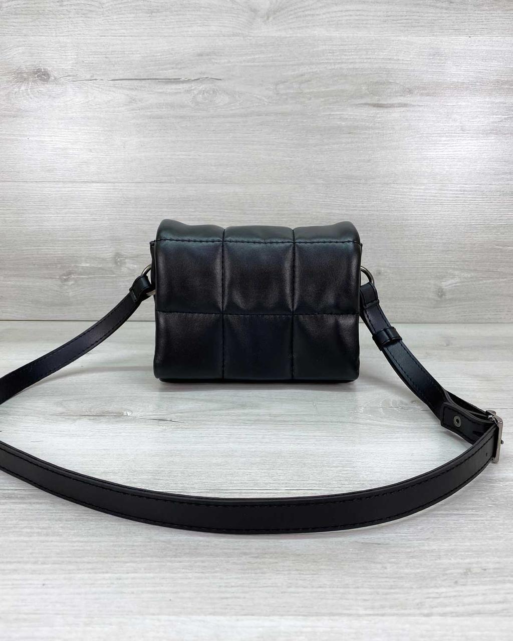 Стильная женская сумка клатч, стильный клатч, женская сумочка «Дина» черная