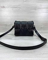 Стильная женская сумка клатч, стильный клатч, женская сумочка «Дина» черная, фото 1